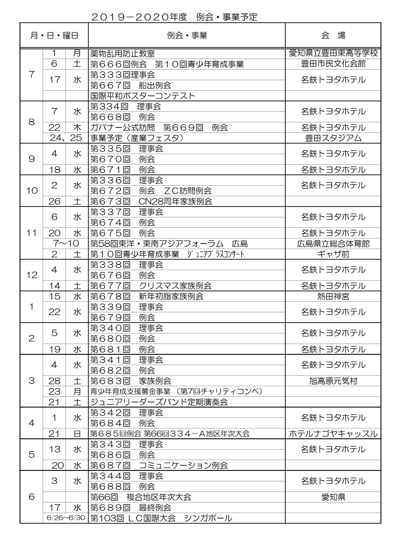 2豊田ルネッサンスLC事業予定1